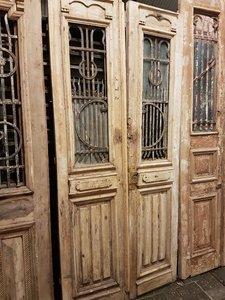 Antieke dubbele deur 105 x 228 cm