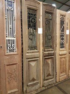 Antieke dubbele deur 113 x 247 cm
