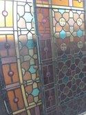 Antieke-Glas-in-lood-ramen-zie-fotos