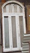 Antiek-louvreraam-rond-raam