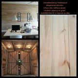 136 m2 Pine wandbekleding, houten panelen Unieke uitstraling!_