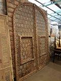 Antieke toegangspoort/deur. 250 x 300 cm. Uniek!_