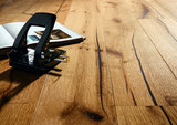 AANBIEDING!! Eiken vloer Antiek verouderd, kant & klaar 190mm breed_