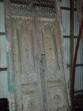 Antieke dubbele deuren _