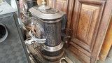 Antieke houtkachels diverse modellen zie foto's_