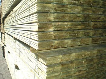 Geimpregneerde planken 16x145mm
