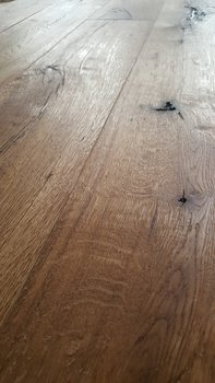 Eiken vloer, antiek verouderd en geolied