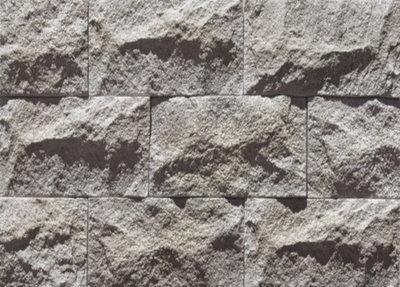Wandsteine aus Granit. Stapelblöcken pro 14qm