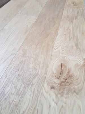 52,2 m2 Oak Floor Multitop 22 cm wide natural oiled.