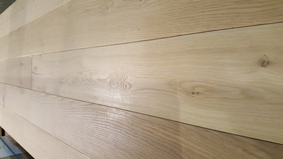 38,8 m2 Oak Floor Multitop 22 cm wide natural oiled.