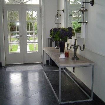 Belgisch hardsteen tegels gezoet