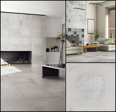57.6 m2 Industrial tiles Eleganza Varese Cenere
