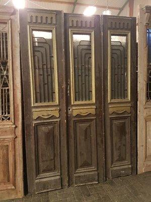Antieke 3 slag deur 169 x 242 cm