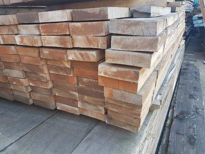 76 stuks Hardhouten balken 40x150 mm x 245 cm