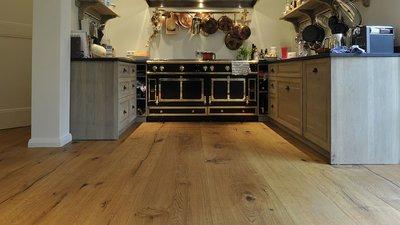 Eiken vloer, vloerdelen XXL breed 260mm Kant & klaar geolied