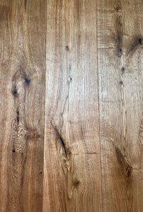 Eiken vloer, multiplank kant & klaar geborsteld en geolied