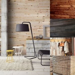 Houten wandbekleding, pine houten panelen Unieke uitstraling!
