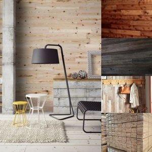 136 m2 Pine wandbekleding, houten panelen Unieke uitstraling!