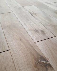 Frans eiken vloer - massieve houten vloer  AANBIEDING!!