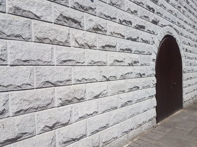 Graniet Muurstenen Stapelblokken Verkoop per pallet 15m2