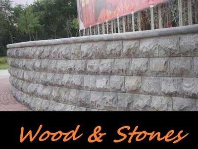 Graniet Muurstenen Stapelblokken