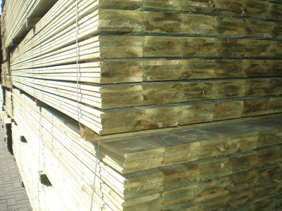 Planken geimpregneerd 16x145mm 3.60m
