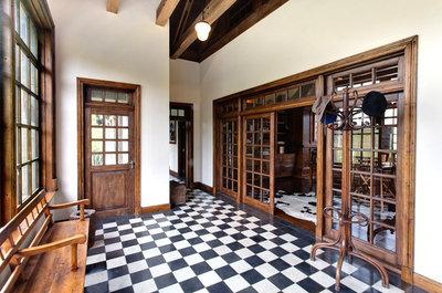 Fabulous Antieke tegels zwart/ wit - Specialist in hout, natuursteen en &WD61