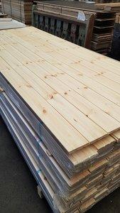 Pine houten wandbekleding panelen Unieke uitstraling!