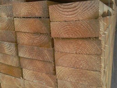 Douglasien Holzbalken 50x150mm 4.00m