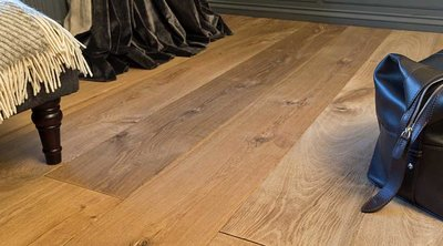 Verbazingwekkend Eiken vloer, houten vloer geborsteld/gerookt/geolied - Specialist OX-14