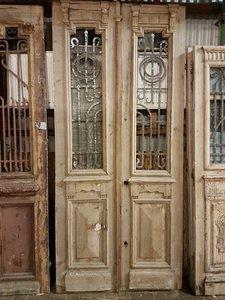 Antieke dubbele deur 115 x 250 cm