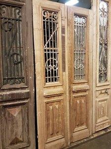 Antieke dubbele deur 110 x 238 cm