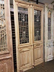 Antieke dubbele deur 137 x 260 cm
