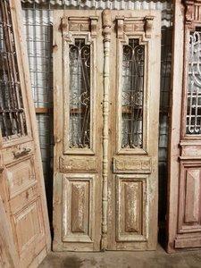 Antieke dubbele deur 106 x 239 cm
