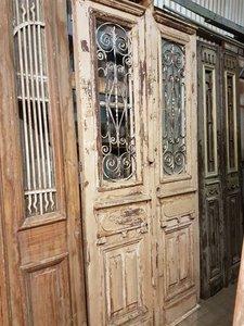 Antieke dubbele deur 117 x 250 cm